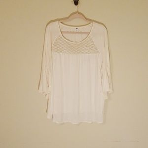 Old Navy Ivory Shirt